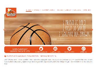 Basketboom.pl – strona internetowa