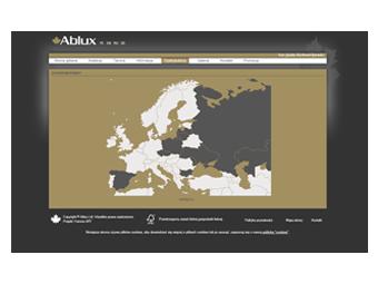 Ablux.pl – strona internetowa