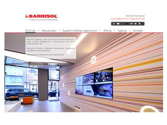 Barrisol-Maksimus.pl – strona internetowa
