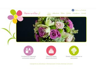 Decoratka.pl – strona internetowa