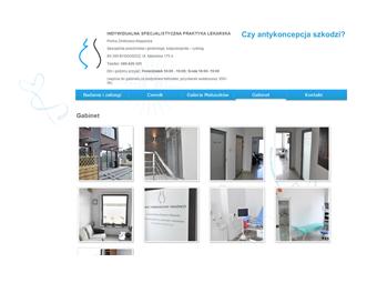 Gabinet-Zmitrowicz.pl – strona internetowa