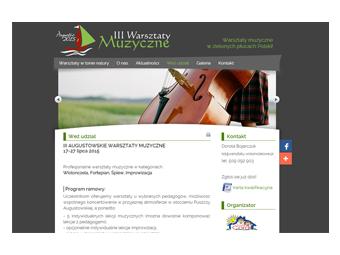 Warszataty-wiolonczelowe.pl – strona internetowa